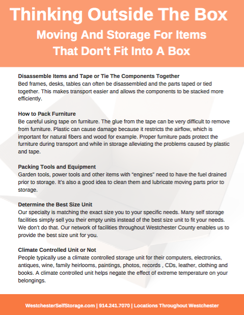 Moving and storage Thinking Outside The Box PDF screenshot