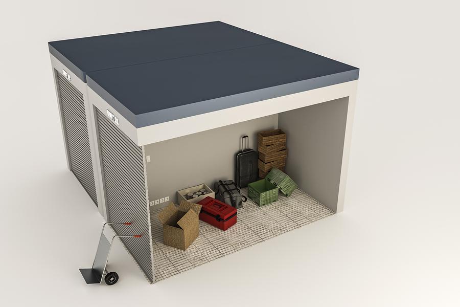 storage units room illustration